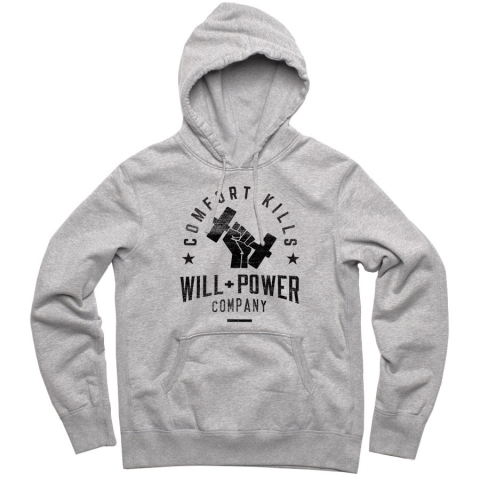Will And Power - Barbell Hoodie