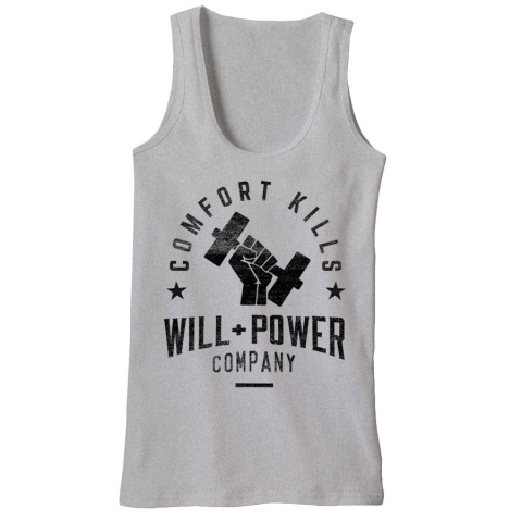 Will And Power - Barbell Tank