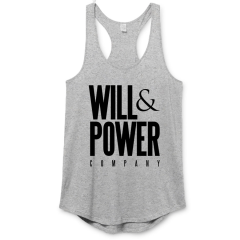 Will And Power - Company Premium Racerback