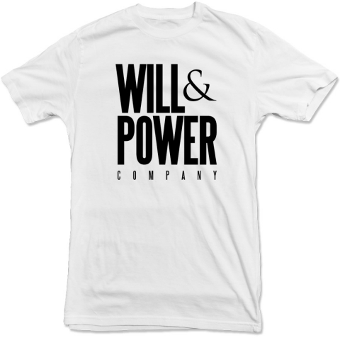 Will And Power - Company Tee