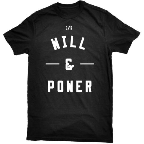 Will and Power - Block Tee